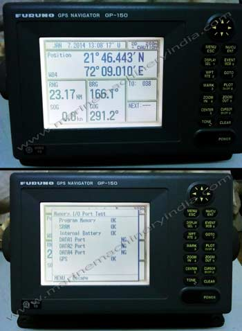 Used Marine GPS Furuno GP150 complete set with antenna