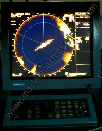 Test of Koden MDC 1810P X Band Used Marine Radar for sale
