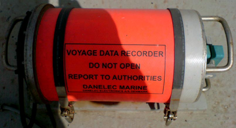 Voyage Data Recorder : Danelec marine used vdr voyage data recorder capsule