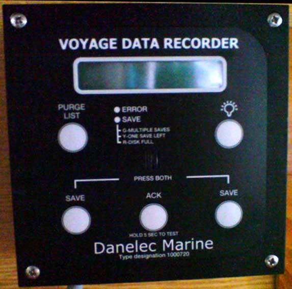 Danelec Marine Used Vdr Voyage Data Recorder Amp Capsule