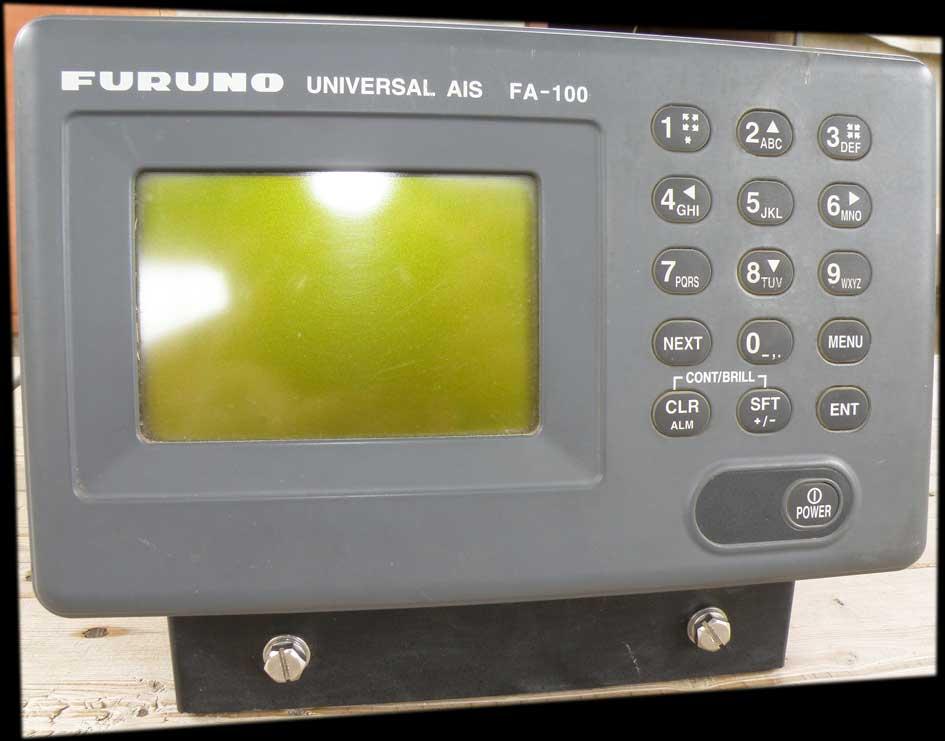 furuno fa100 universal ais with gps antenna used marine ais rh marinemachineryindia com