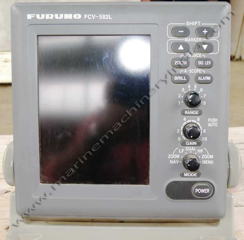 "furuno fcv 582l used fish finder wi 6.5"" colour lcd for sale, Fish Finder"