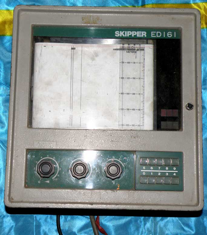skipper ed161 marine navigation echo sounder / depth finder, Fish Finder