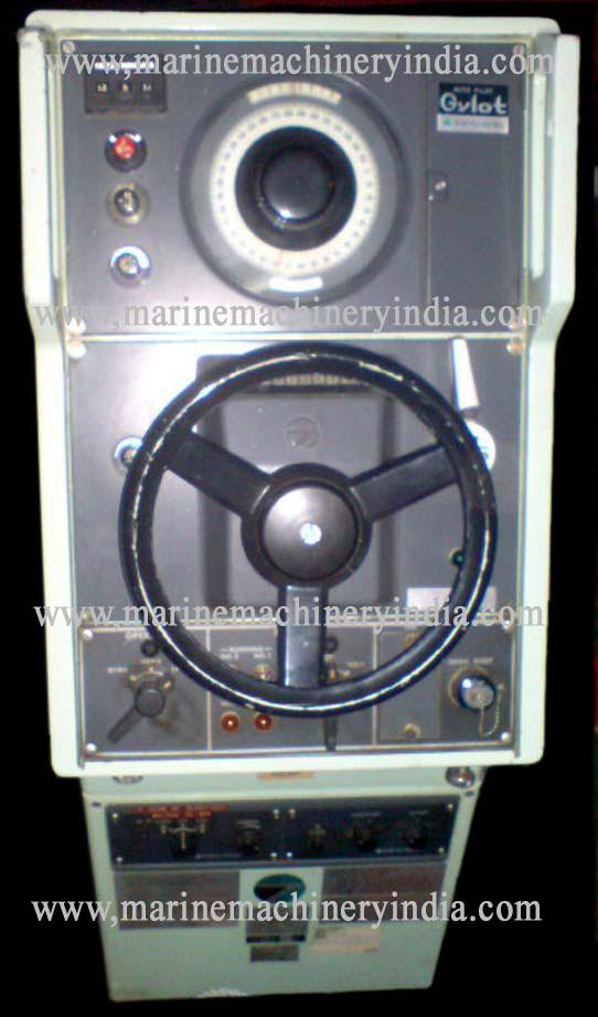 Tokyo Keiki Gylot PR2507 L Used Marine Autopilot Steering Stand