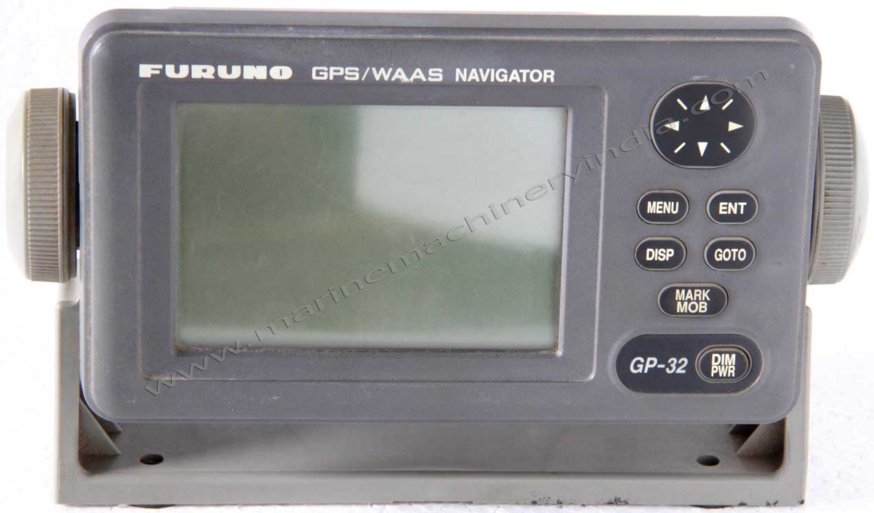 used furuno gp32 gps navigator with 12 channel waas receiver. Black Bedroom Furniture Sets. Home Design Ideas