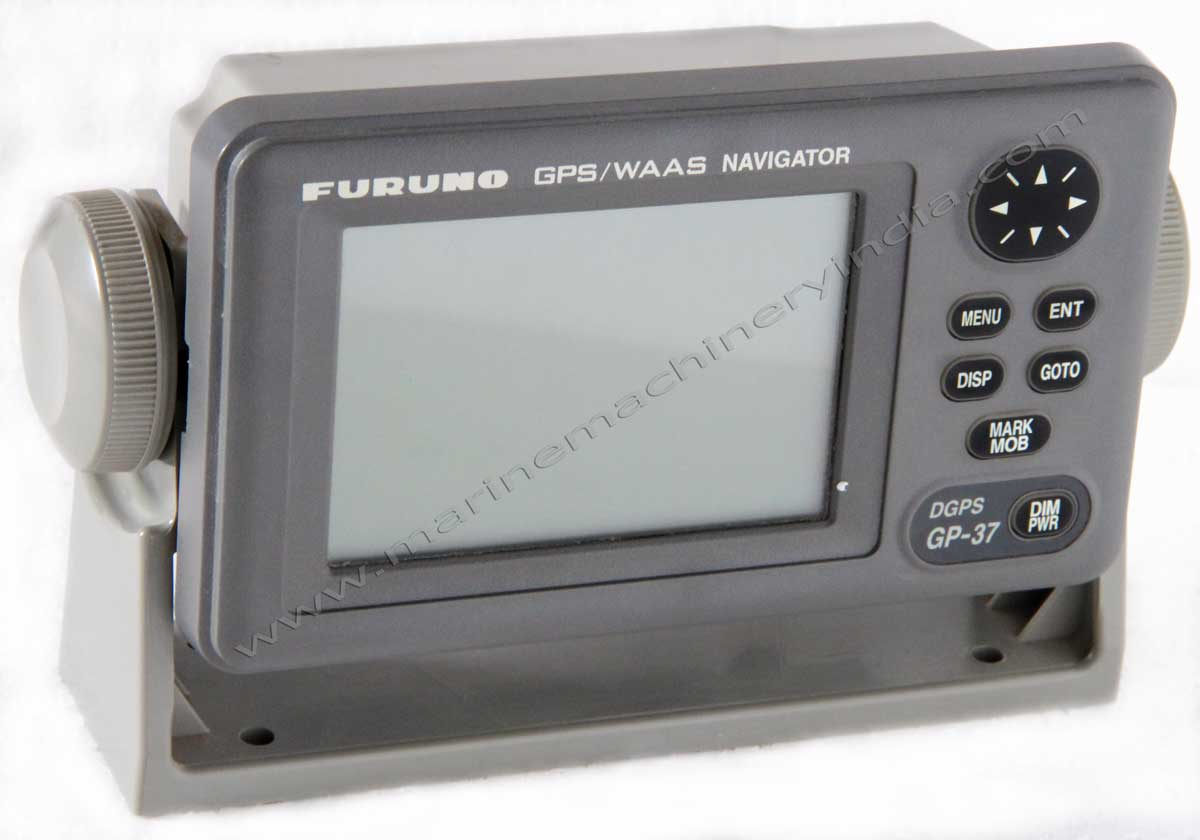 "Used Furuno GP37 DGPS WAAS Receiver, 4.5"" Bright LCD Display"