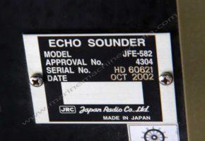 Used JRC JFE 582 Echo Sounder / Depth Finder for sale