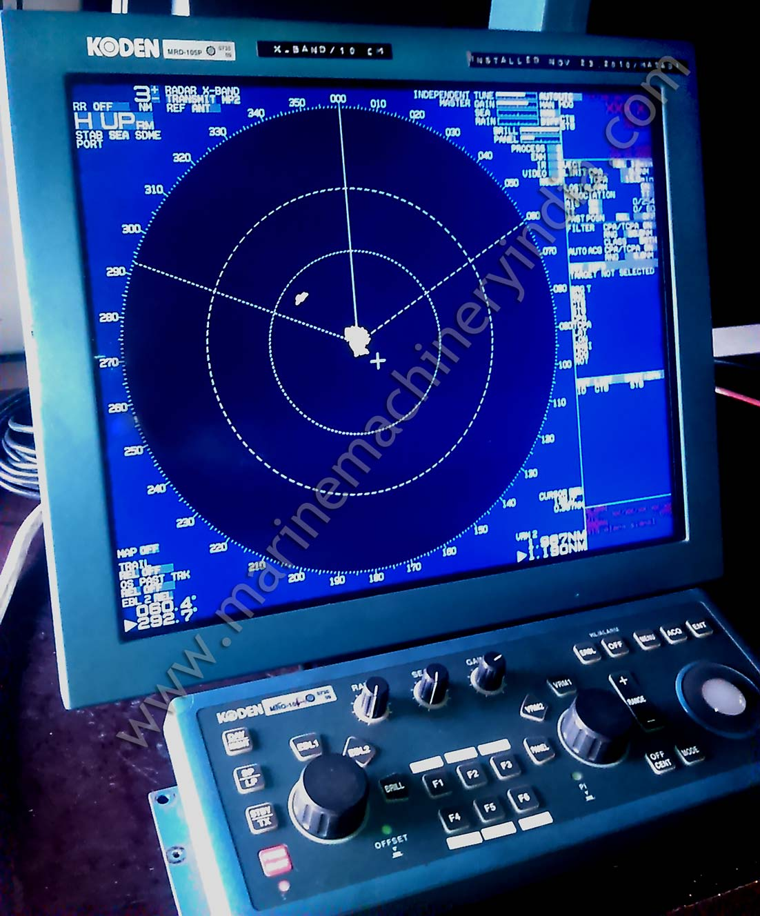 Used Koden Marine Radar MDC 2910P X Band ARPA for sale
