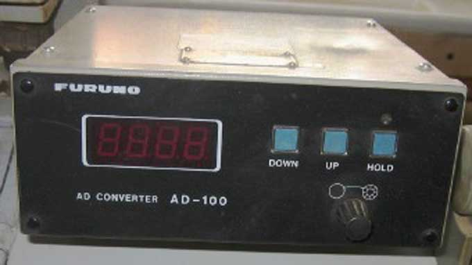 Used Furuno Ad 100 Gyro Analog To Digital Converter For Sale