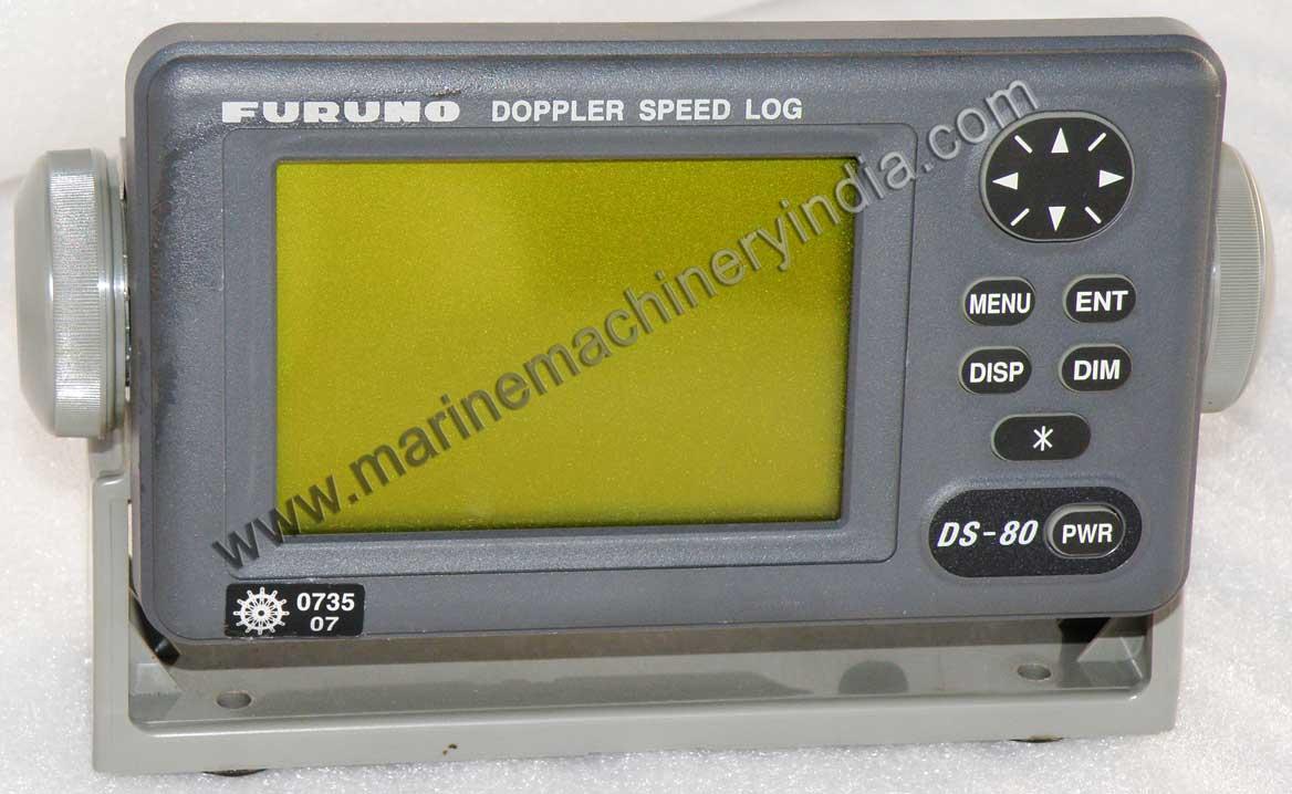 Furuno DS 80 Used Marine Navigation Doppler Speed Log Set