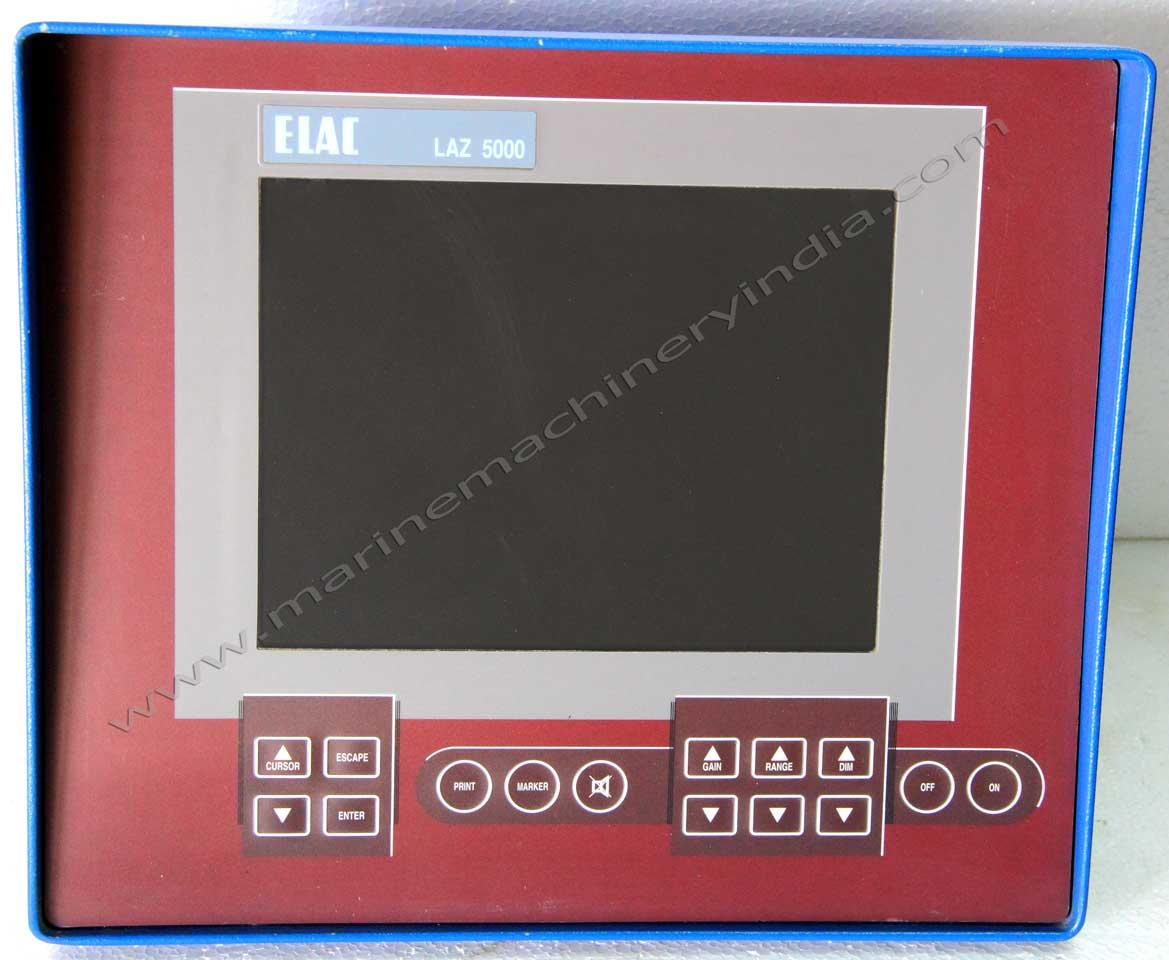 ELAC Nautik LAZ 5000 Digital Marine Echosounder Depth Finder